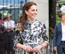 Kate Middleton Masters Wide-Leg Trousers And Florals In The Same 24 Hours