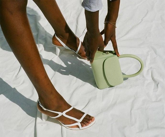By Far sandals.