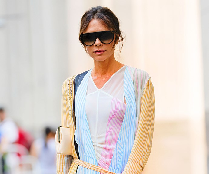 Victoria Beckham's Love Affair With Leggings Continues