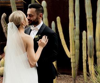 Real Bride: Vanessa and Daniel's Sleek, Ultra-Modern Sydney Affair
