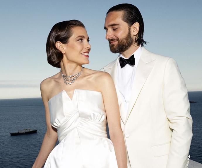 Charlotte Casiraghi wedding.