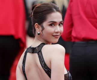 Cannes Dress Fine Ngoc Trinh
