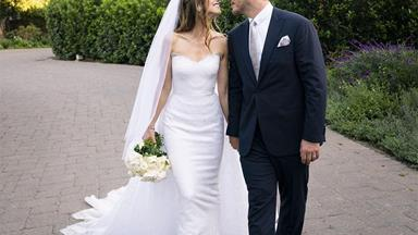 Katherine Schwarzenegger's Second Armani Wedding Dress Almost Outshone Her First