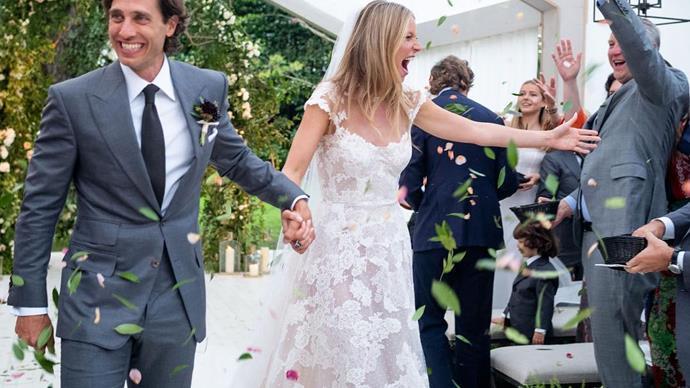 Gwyneth Paltrow wedding.