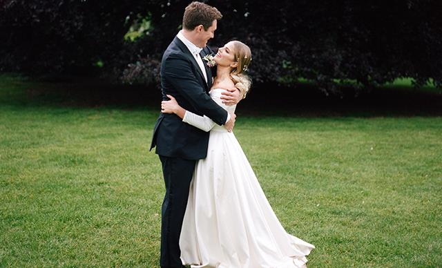 Real Bride: Alison and James' Classic English Garden Party
