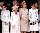 The Order Of The Garter Service Was A Who's Who Of Stylish Royals