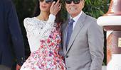 Amal Clooney Just Wore The Most Gorgeous Gucci Dress In Italy
