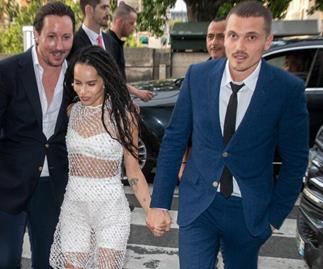 Zoë Kravitz's Paris Wedding Had The Most Star-Studded Guest List