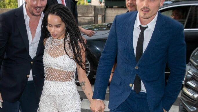 Zoë Kravitz's Paris Wedding Had The Most Star-Studded Guest List
