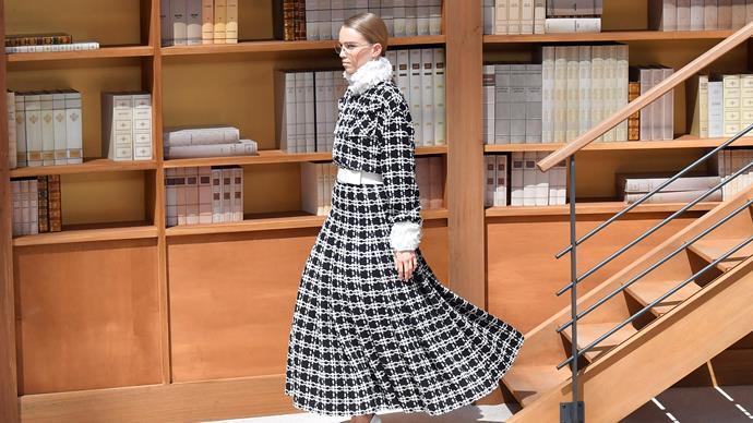 Chanel runway.