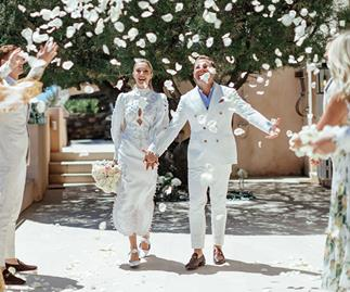 BAZAAR Bride: Yasmin and Nicholas' Sunny St Tropez Celebration