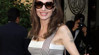 Angelina Jolie Provides A Masterclass In French Dressing