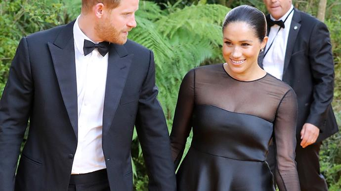 Meghan Markle attends the premiere of 'The Lion King.'