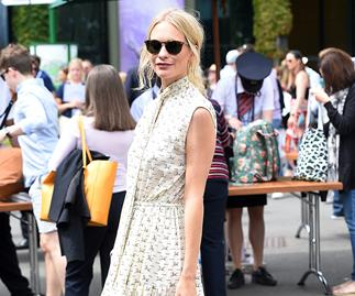 Poppy Delevingne at Wimbledon 2019.