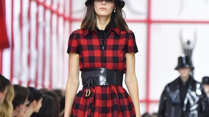 Dior runway.
