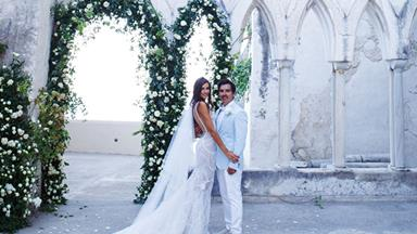 BAZAAR Bride: Evah And Nathan's Visually Stunning Amalfi Coast Nuptials