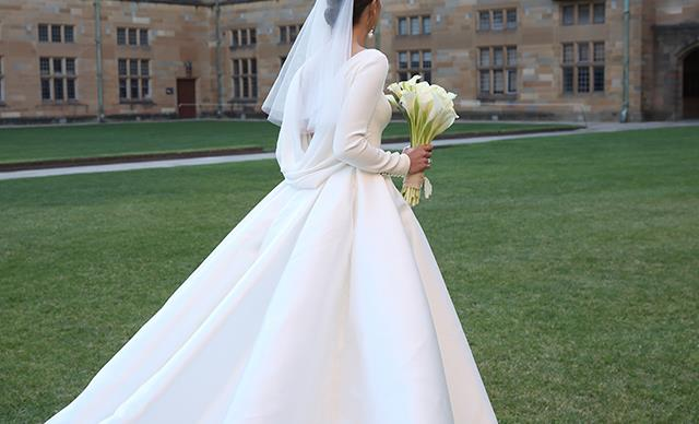 15 Of The Most Amazing Wedding Dresses Worn By BAZAAR Brides
