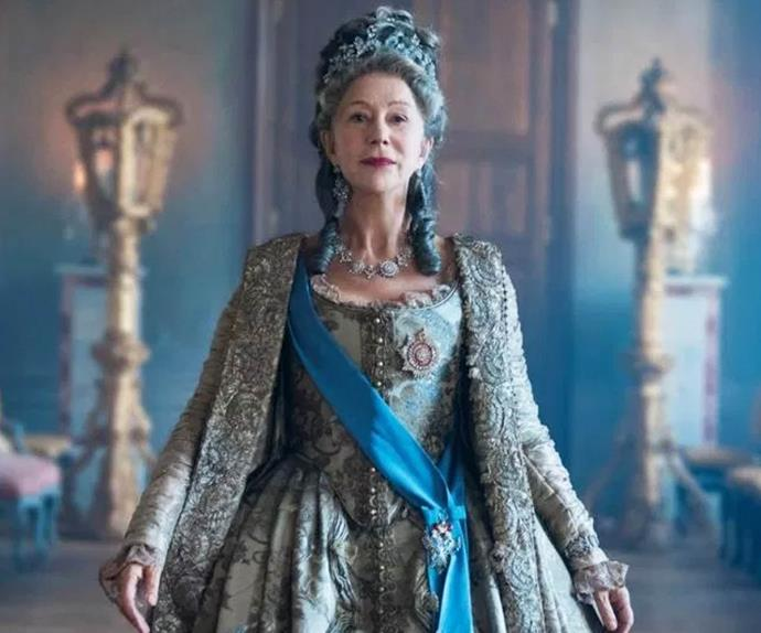 Helen Mirren in HBO's 'Catherine The Great'.