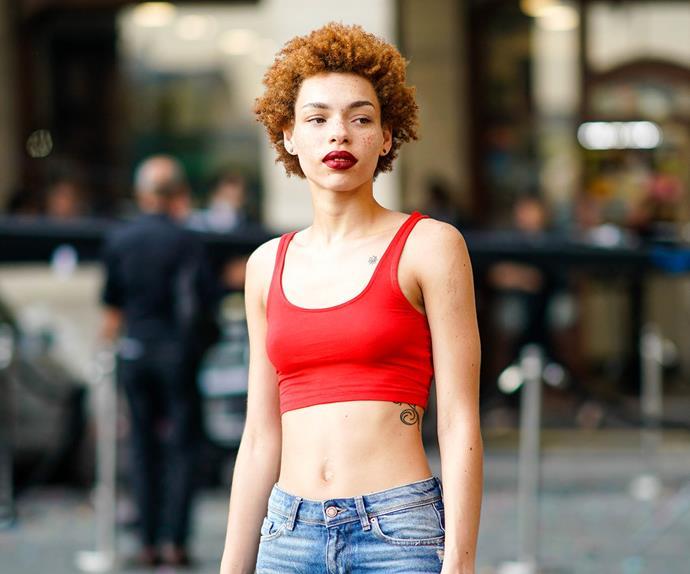 Model Carissa Pinkston.