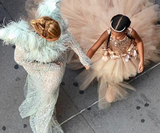 Beyoncé and Blue Ivy.