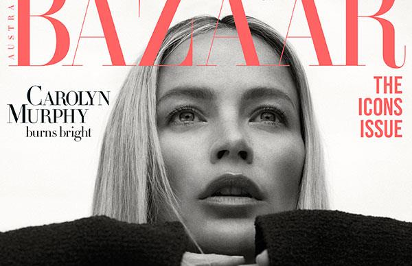 Carolyn Murphy Covers Harper's BAZAAR Australia's September 2019 Issue