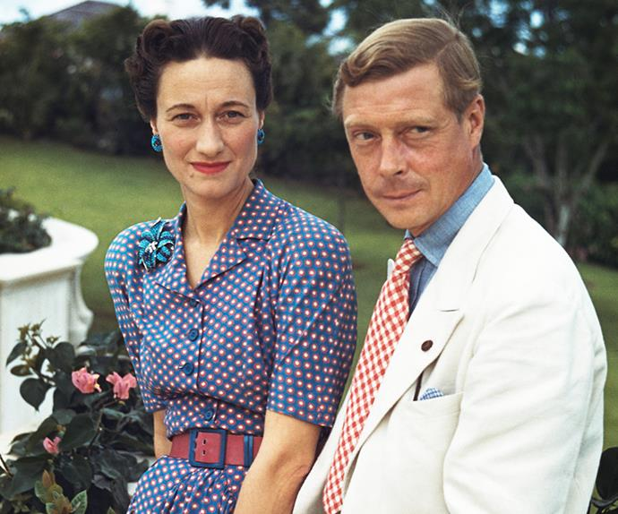 Rebels without a cause.  Wallis, Duchess of Windsor, and Prince Edward, Duke of Windsor.
