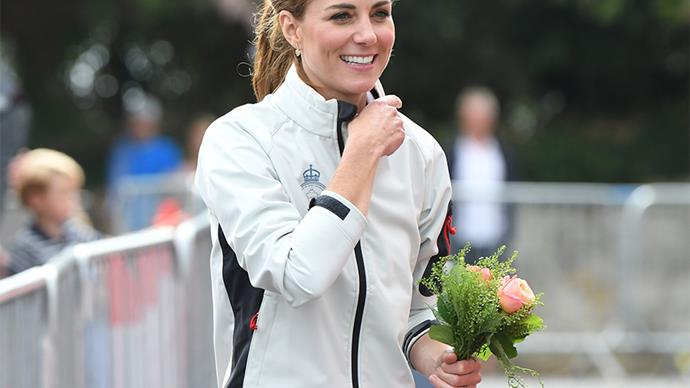 Kate Middleton at the 2019 King's Cup.