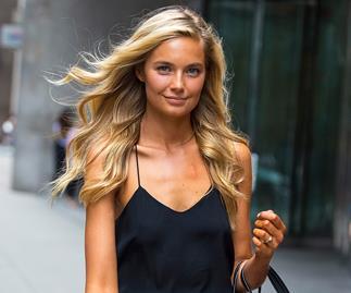 Former Victoria's secret Model Bridget Malcolm.