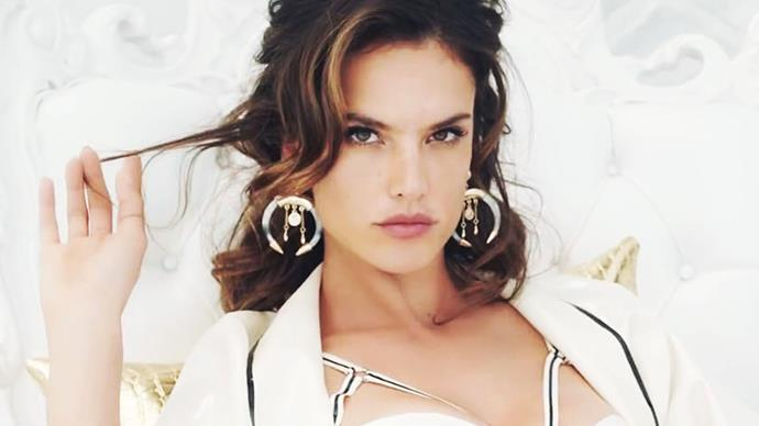 Alessandra Ambrosio in Fergie's M.I.L.$ music video.