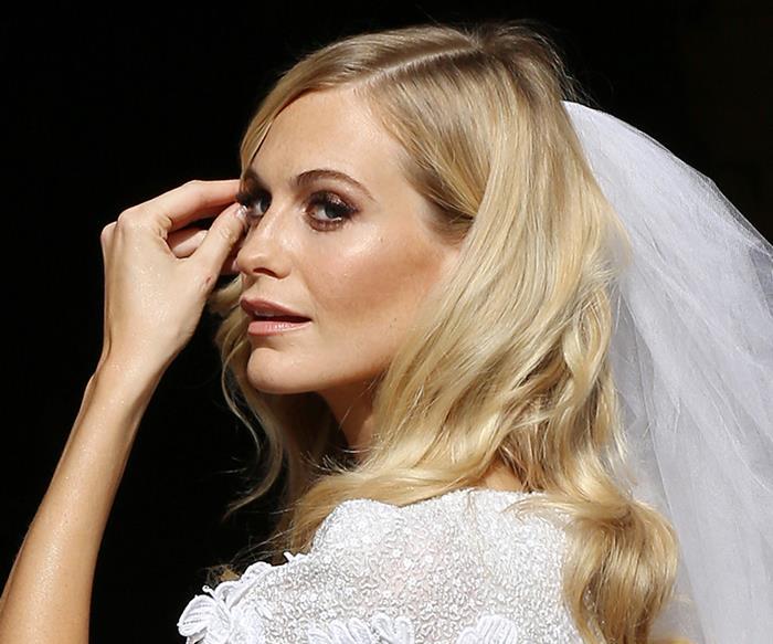 poppy delevingne wedding hair