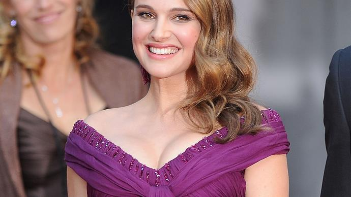 Natalie Portman wearing Rodarte at the 2011 Academy Awards.