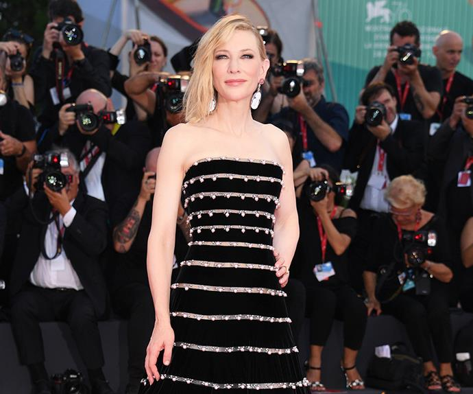 Cate Blanchett at the 2019 Venice Film Festival.