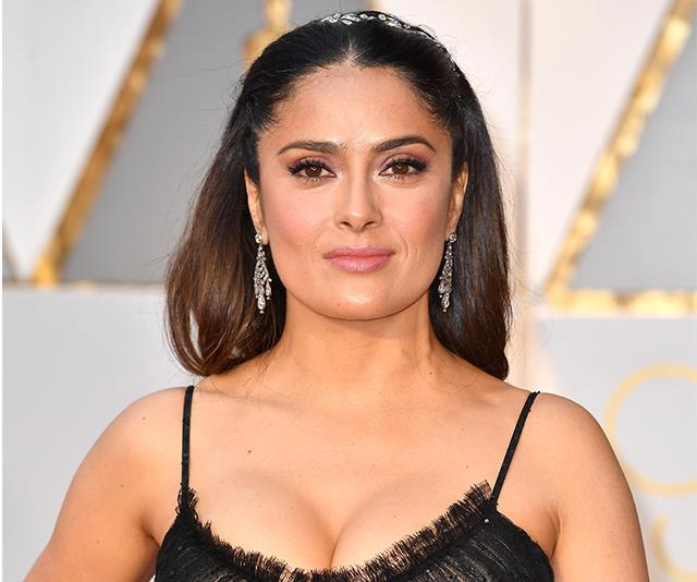 Salma Hayek's Full Diet And Exercise Routine
