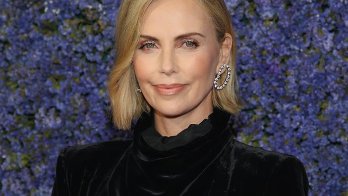Charlize Theron Finds A Way To Make The Bowl Cut Chic