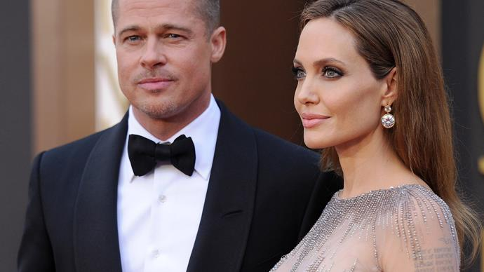 Brad Pitt and Angelina Jolie.