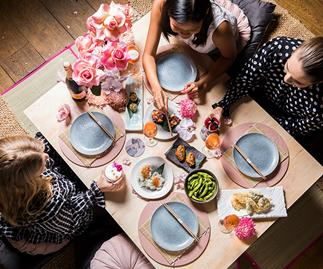 This Restaurant Is Holding A Japanese Picnic In A Floral Wonderland