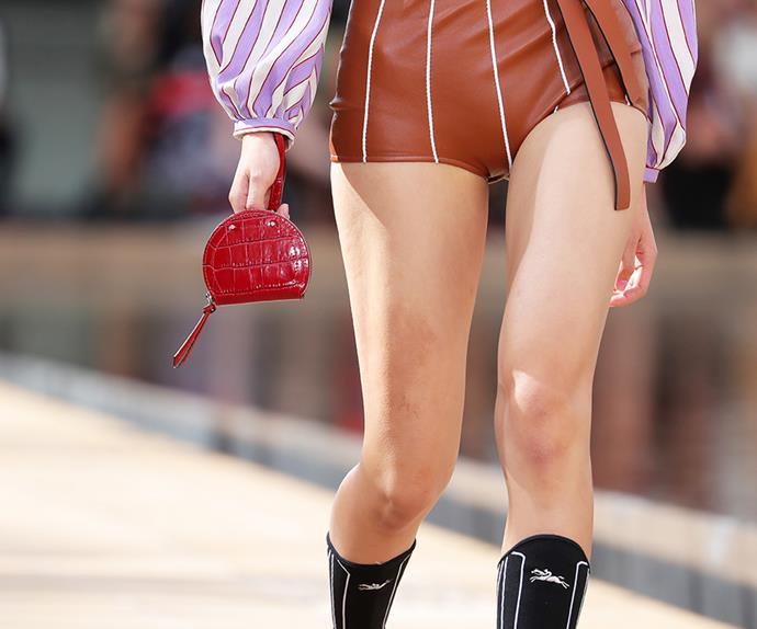 Ting bag at Longchamp spring/summer 2020.