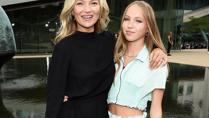 Kate and Lila Moss.