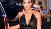 Kim Kardashian Just Wore A Completely Sheer Top For A TV Appearance