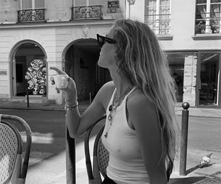 Model in Paris.