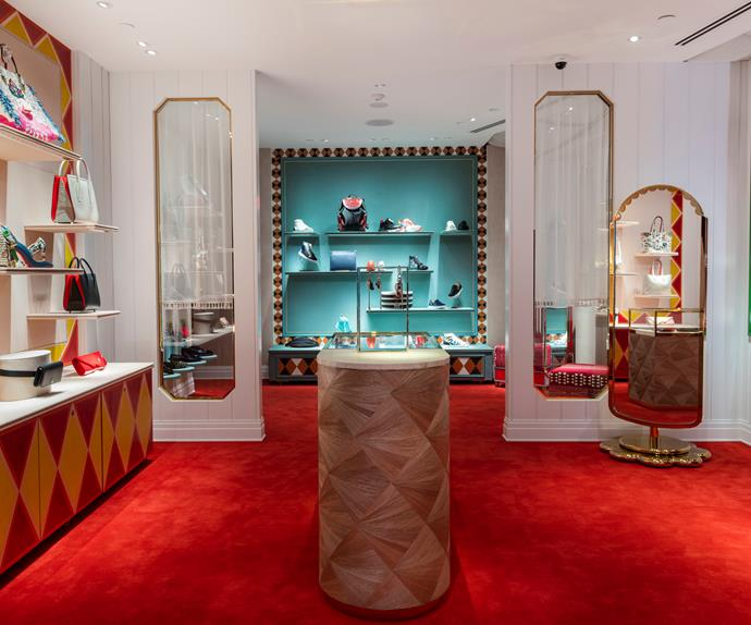 Christian Louboutin Melbourne store.