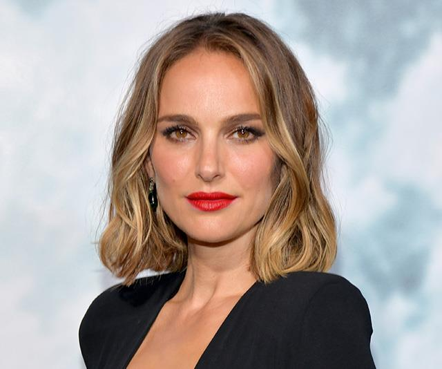 Natalie Portman Just Shut Down The Red Carpet In A Plunging LBD