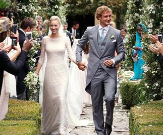 Beatrice Borromeo wedding.