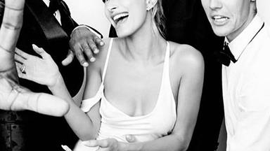 Hailey Bieber's Wedding Rehearsal Dress Had A Hidden Nod To Princess Diana
