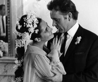 Elizabeth Taylor and Richard Burton.