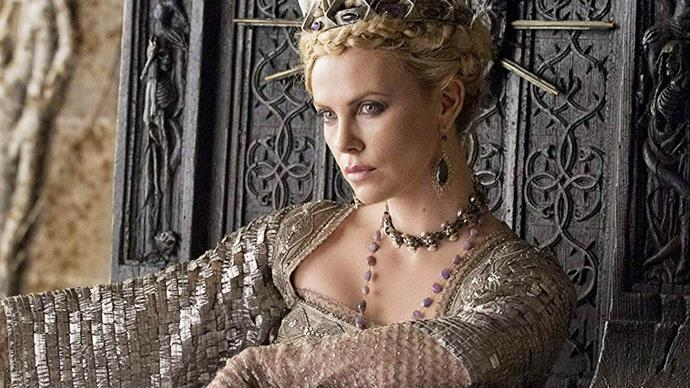 Charlize Theron in Snow White and the Huntsman.