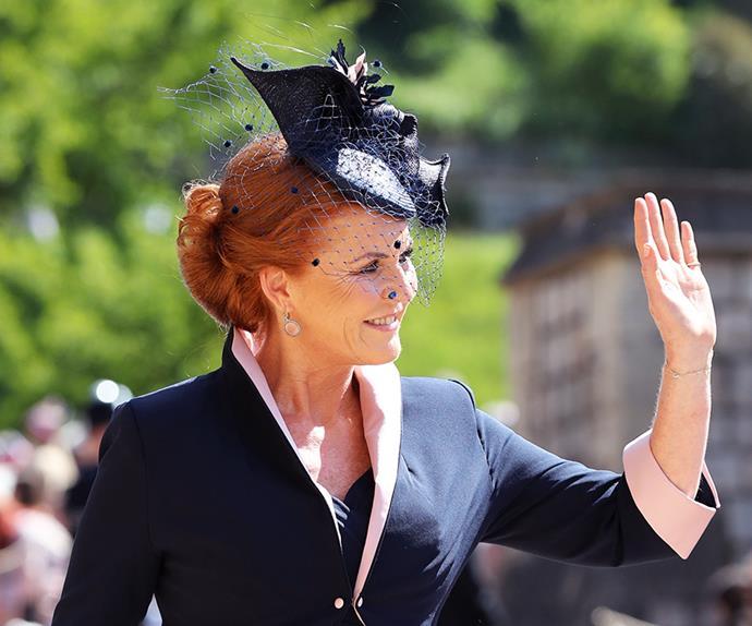 Sarah, Duchess of York.