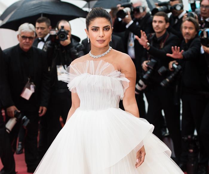 Priyanka Chopra Jonas at the Cannes Film Festival.