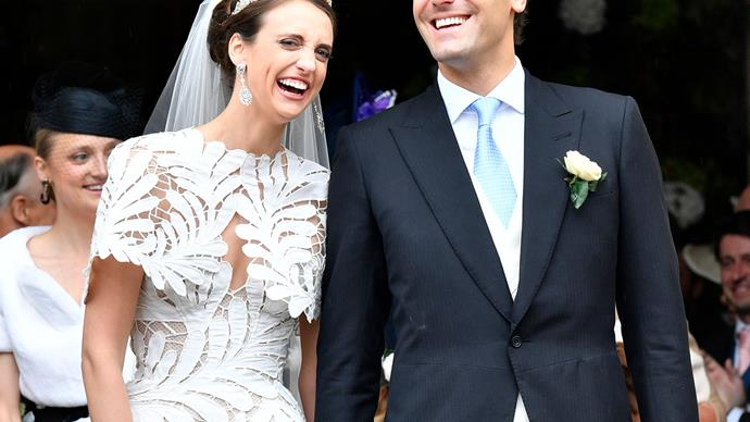 Prince Jean-Christophe Napoleon Bonaparte and Countess Olympia.