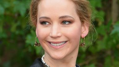 The First Glimpse Of Jennifer Lawrence's Wedding Dress Is Here
